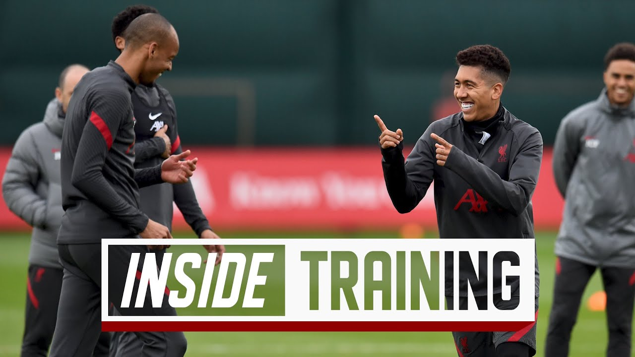 Inside Training: Rondos, shooting drills and mini-games   Presented by AXA