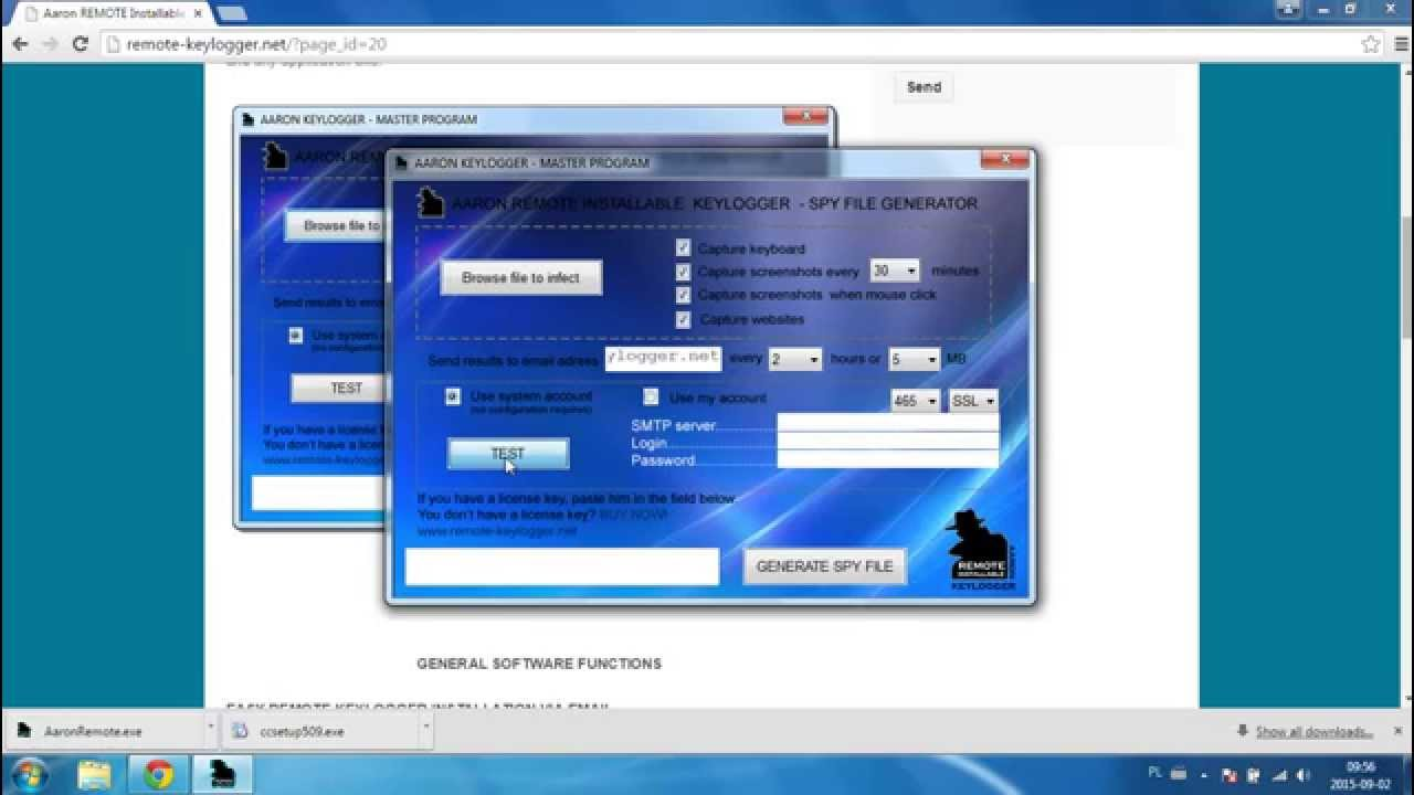 It's EASY! Infecting Word document by keylogger