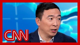 Andrew Yang responds to report Michael Bloomberg offered him VP