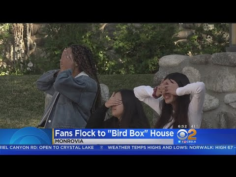 Monrovia Home Featured In 'Bird Box' Becomes Tourist Destination