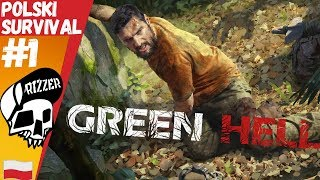 PREMIERA Polskiego Survivalu w Stylu The Forest - GREEN HELL PL #1 | Rizzer Survival