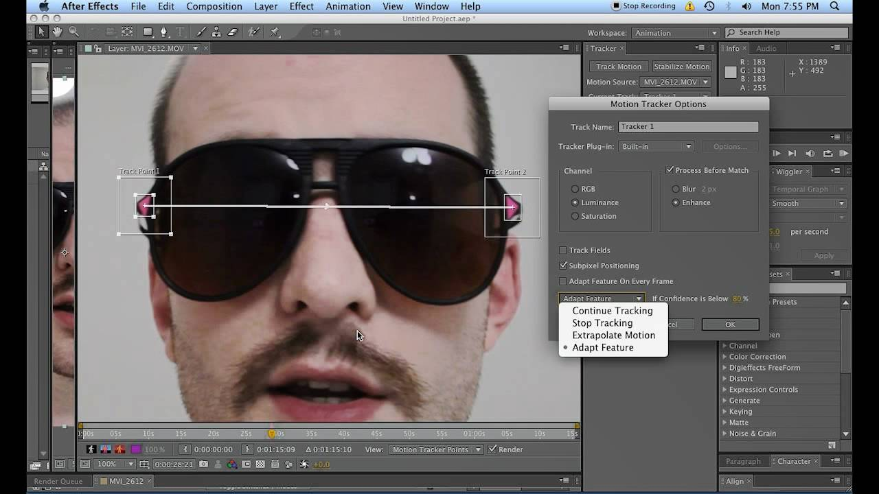 how to cut footage in after effects