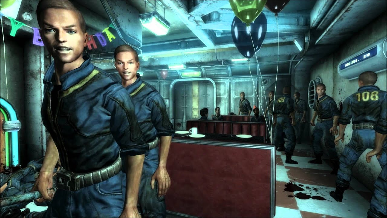 Fallout 3: Gary Crashes Ur Birthday Party