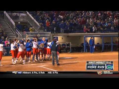 05/11/2013 Missouri vs Florida Softball Highlights