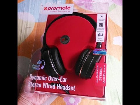1e5c1457614 RainCHECK | Promate Encore Dynamic Over-Ear Stereo Wired Headset - YouTube
