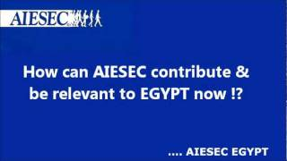 Dr.Namira Negm with AIESEC EGYPT