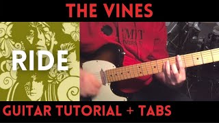 The Vines - Ride (Guitar Tutorial)