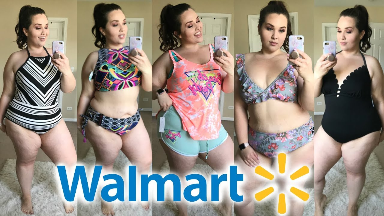 c5404a57fb3de Walmart Swimsuit Try-On 2018 |Plus Size Fashion| - YouTube