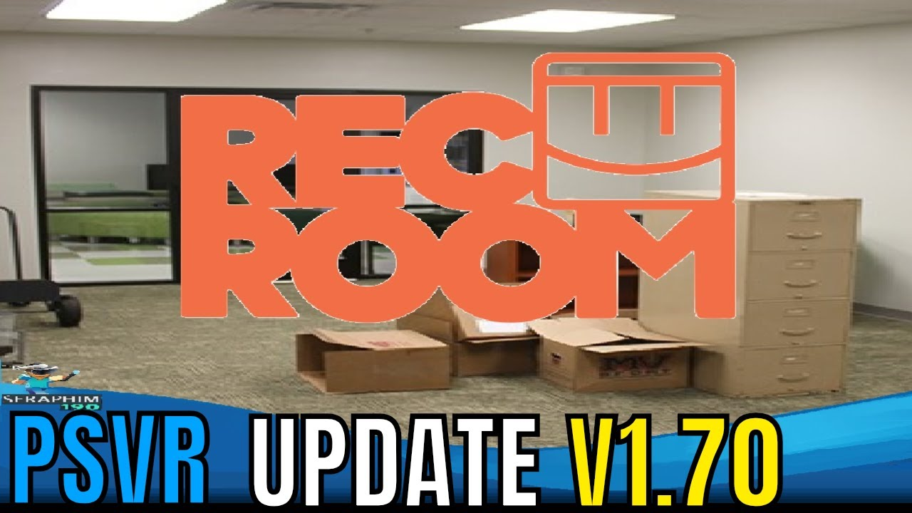 Psvr Good News Rec Room Update V1 70 Best Day Ever