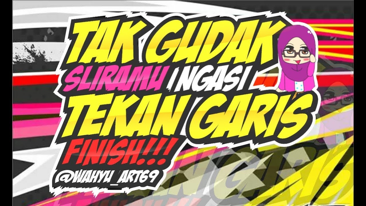 Tutorial membuat kata kata racing di apk ivy draw youtube