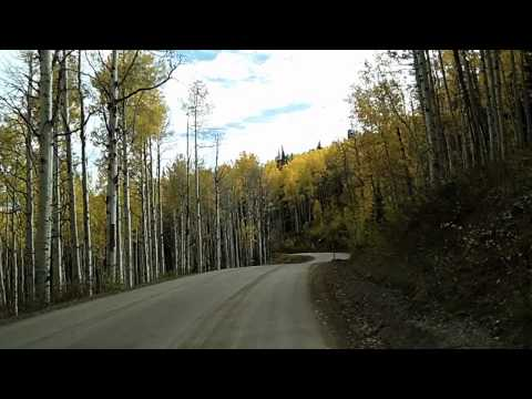 Kebler Pass: Gunnison County Route 12 to Crested Butte during Fall Colors