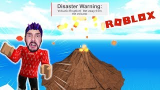 Roblox: DISENTOTHE NATURAL NATURAL CATASTROPHE! WILL KAAN SURVIVE THE VOLCANIC ERUPTION! Natural Disaster