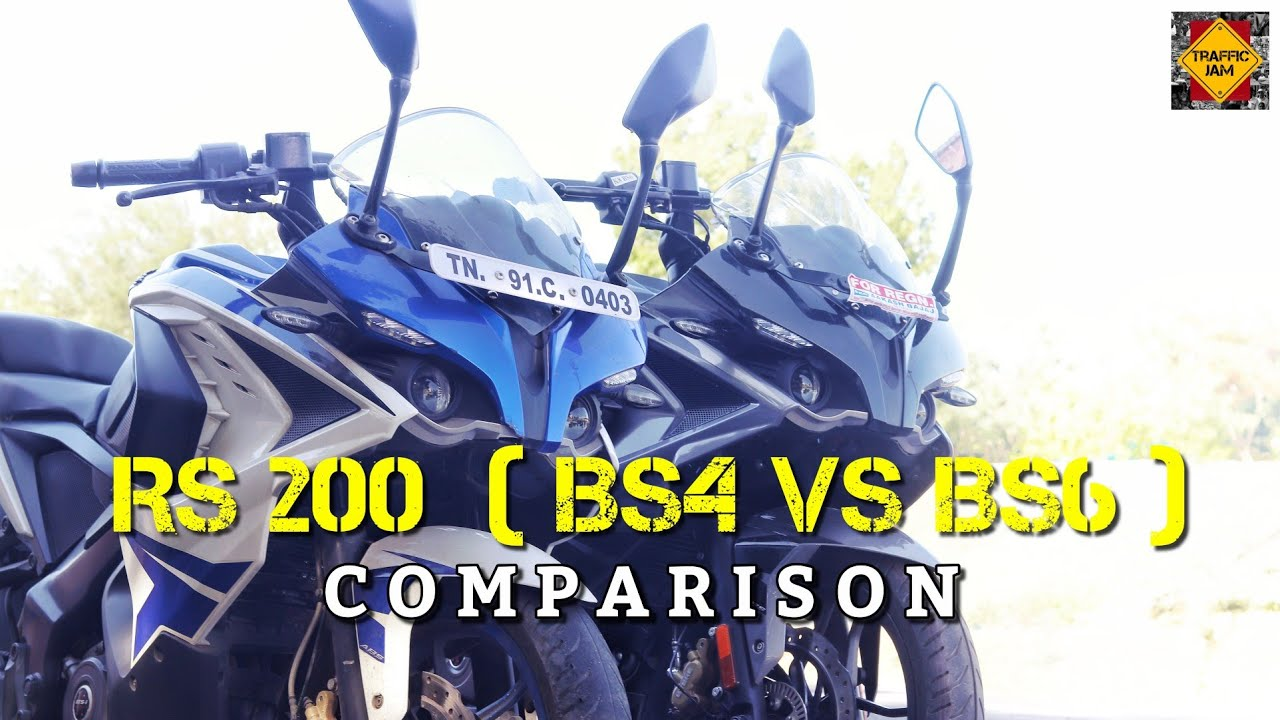 RS200 | BS4 VS BS6 | COMPARISON | TAMIL | TRAFFIC JAM