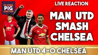 MAN UTD VS CHELSEA 4-0 | Rashford + Martial & Pogba Smash Up Chelsea!!!