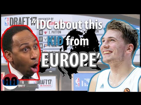 American Media Disrespecting Luka Doncic and European Basketball Players