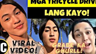 VIRAL VIDEO OF #BUKNOY #GLAMURRR (TRICYCLE DRIVER ISSUE!!)|RomelVlog