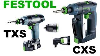 видео Аккумуляторные инструменты Festool