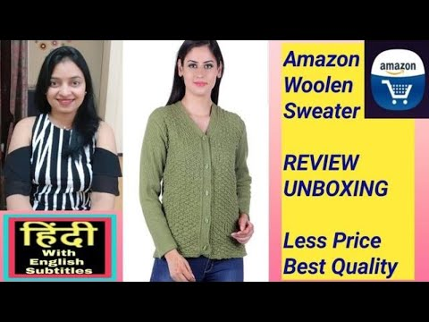 amazon-woolen-lycra-sweater-review-and-unboxing---in-hindi