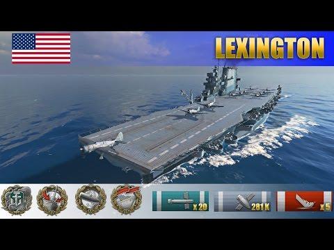 """280 К урона и медаль """"Один в поле воин"""" на американском авианосце Lexington"""