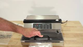 How To Operate the VacMaster PRO350 & PRO380 Suction Vacuum Sealer