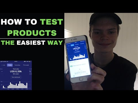 How To Test Products 2020 - Shopify Dropshipping thumbnail