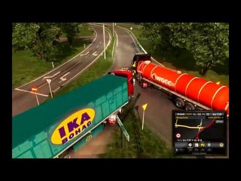 Euro Truck Simulator 2 ilk Rostock sonrasında scandinavia inceleme 3  DEVAM İŞTE MALMÖ |