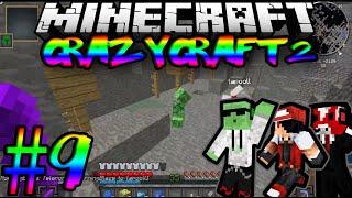 Pelataan Minecraft ModPack: Crazy Craft2 Moninpeli Jakso 9 Sokkelo Kaivokset