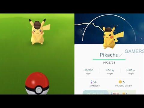 Detective Hat Pikachu In Pokemon Go New Pokemon Go Event Confirmed Youtube