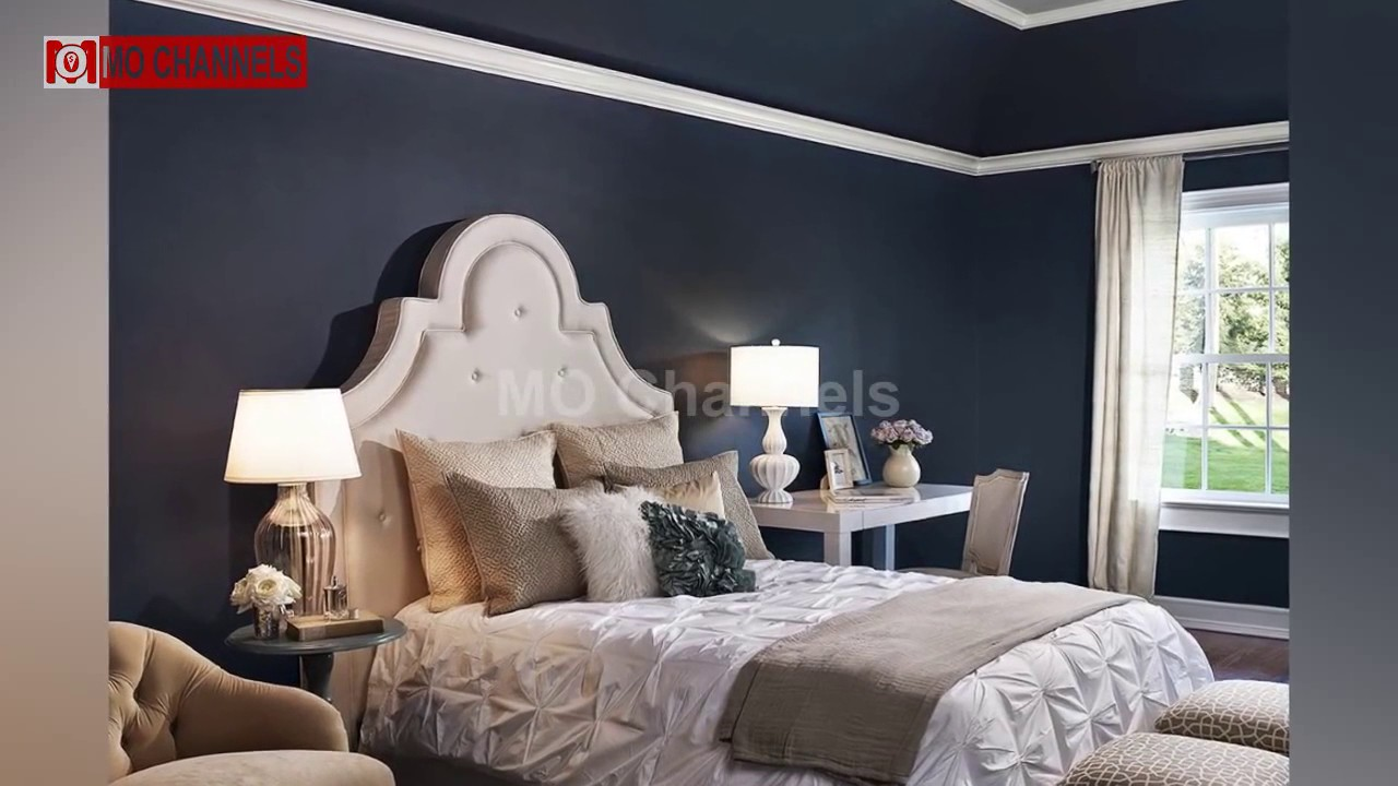 Best Blue Gray Paint Bedroom Design Ideas Youtube
