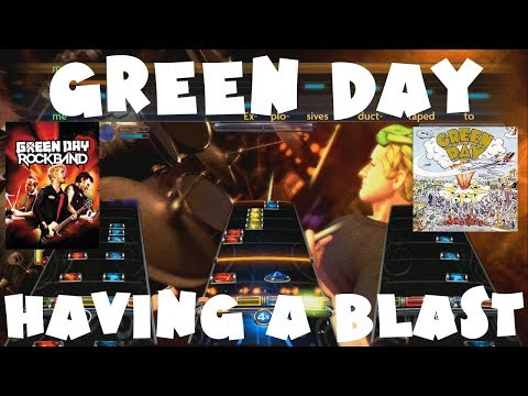 Green Day - Having A Blast - Green Day Rock Band Expert Full Band
