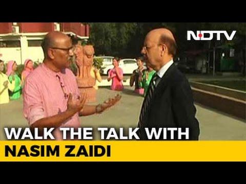 Walk The Talk With Chief Election Commissioner S Nasim Zaidi