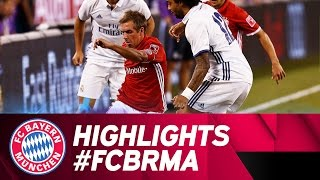 Highlights: fc bayern vs. real madrid   audi football summit
