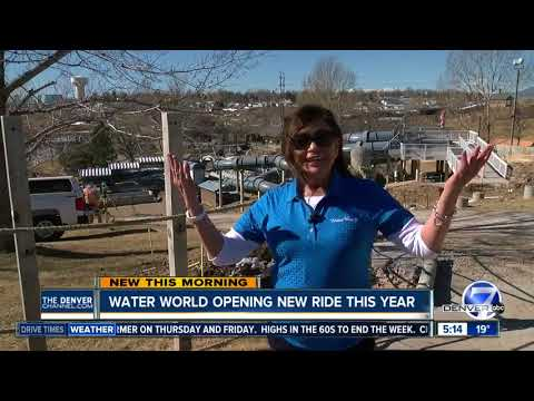 Water World is getting a new ride - Glacier Run