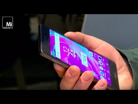 Sony Xperia X, X performance и Xperia XA на MWC2016