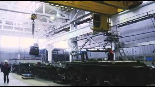 Әскер KZ. Танковый завод