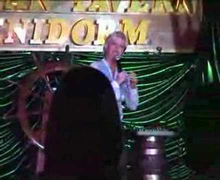 chrissy rock  morgan tavern  benidorm  2007