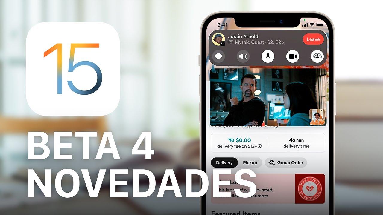 Download iOS 15 beta 4 review, 10 NOVEDADES que no conoces 🔥