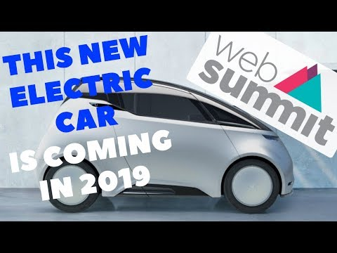 New 2 person electric car Uniti specs at Web Summit | Interviews designer & battery guy