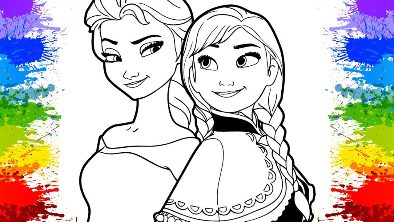 Disney Princess Coloring Book Compilation