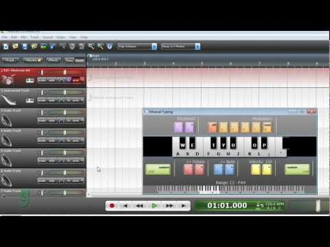 How to Make Professional Drum Loops using Virtual Instruments in Mixcraft