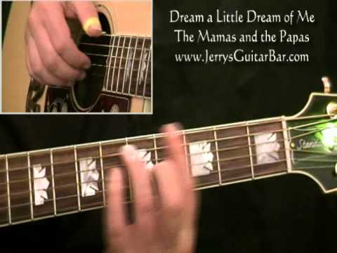 How To Play The Mamas and the Papas Dream a Little Dream of Me (full ...