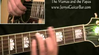 How To Play The Mamas and the Papas Dream a Little Dream of Me (full lesson)