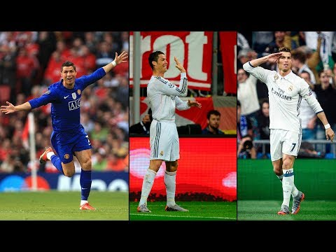 Cristiano Ronaldo - All 13 RECORD Champions League Goals In Semi-Finals 2007/2017