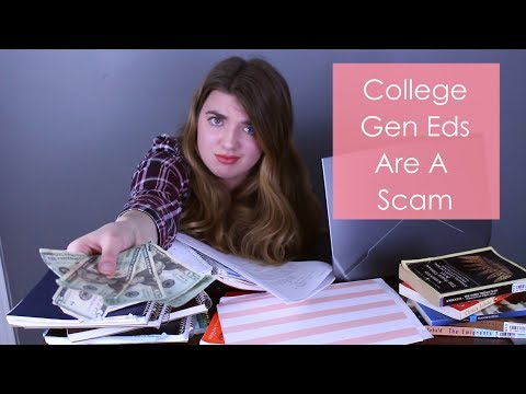Why General Education Classes are a Scam
