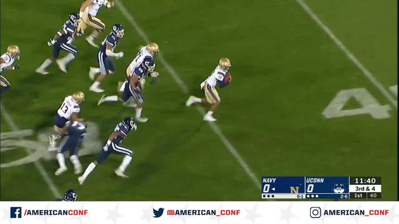 navy vs uconn football