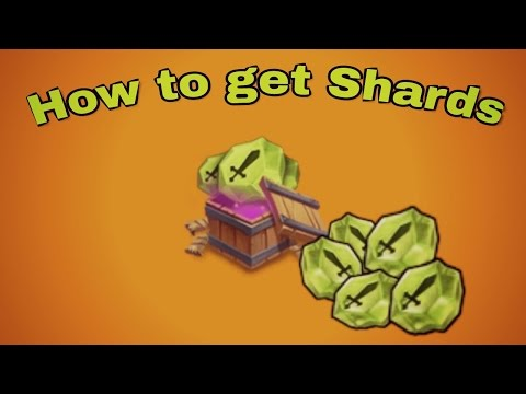 How To Get Shards Instantly 2017(Updated Version) : Castle Clash