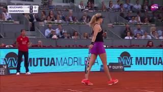 Eugenie Bouchard - TOP 5 Best Points Tennis