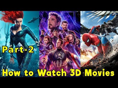 How To Watch 3d Movies In PC/laptop And Mobile | Part-2