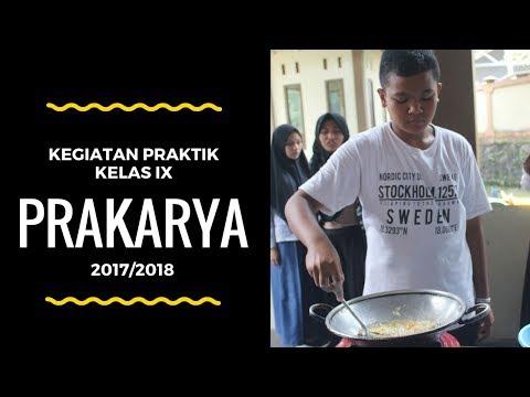 Praktik Pengolahan Daging dan Ikan - Prakarya IX SMP Bustanul Makmur #1