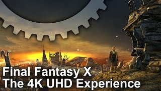 Final Fantasy X/X-2 PC Remaster 4K Gameplay Footage